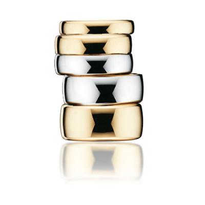 Vielsesringe i 14 karat guld A-ringe (02/20)