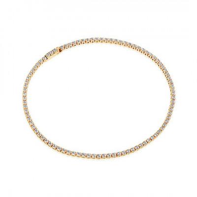 Sif Jakobs - Armbånd i forgyldt sølv fra smykkeserien Ellera