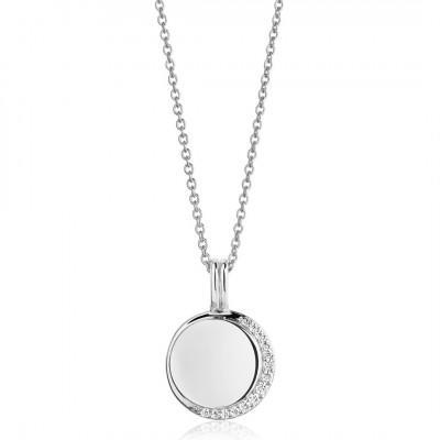Sif Jakobs - Halskæde Portofino i sølv med hvide zirkoner