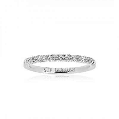 Sif Jakobs - Fingerring i sølv fra smykkeserien Ellera