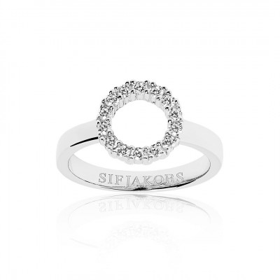 Sif Jakobs - Fingerring i sølv fra smykkeserien Biella Piccolo