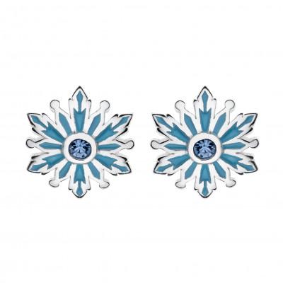 Disney sølvøreringe - Frozen - Snefnug (11/20)