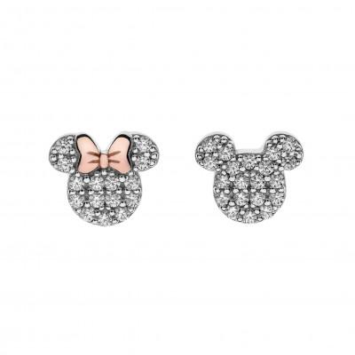Disney sølvøreringe - Minnie - Mickey Mouse (11/20)