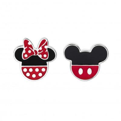 Disney sølvøreringe - Mickey og Minnie Mouse (11/20)