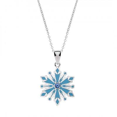 Disney Frozen sølvhalskæde - Snefug (11/20)