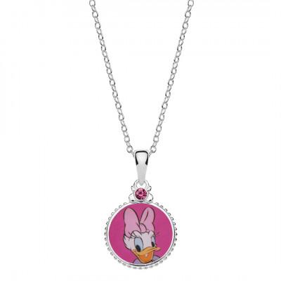 Disney sølv halskæde - cirkel med Andersine (06/21)
