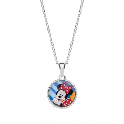 Disney sølvhalskæde - Minnie Mouse (11/20)