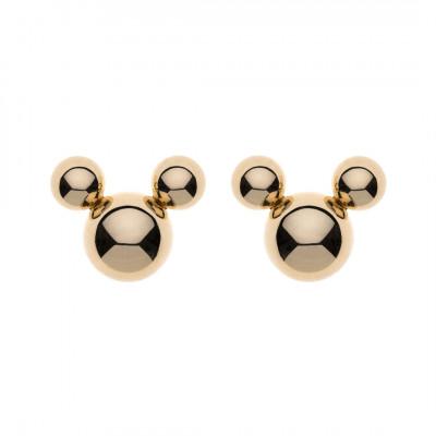 Disney øreringe i 9 karat guld - Mickey af kugler (11/20)