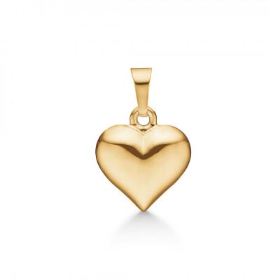Hjerte vedhæng i 8 karat guld (01/21)