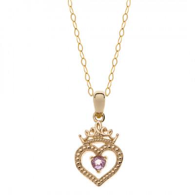 Disney Princess- Halssmykke i 9 karat guld (06/21)