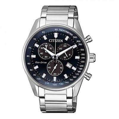 Citizen Eco-drive - Chronograf herre ur med Tachometer(12/20)