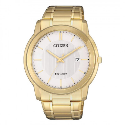 Citizen Eco-drive - Herre ur i double med lænke (12/20)