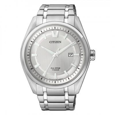 Citizen Eco-drive - Titanium herre ur med lænke (12/20)