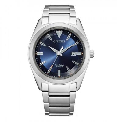 Citizen Eco-drive - Titanium herre ur blå urskive (12/20)