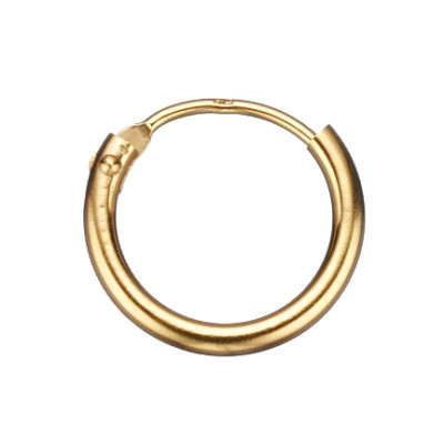 Scrouples Ørecreoler - 14 karat guld