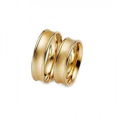 Vielsesring Gerstner 20952 i 14 karat alm guld (X1) 08/19