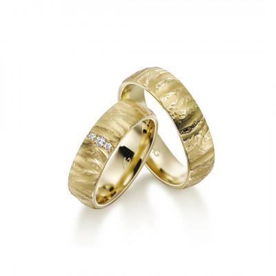 Gerstner vielsesringe 28676 i 8 karat guld (x42) 12/19