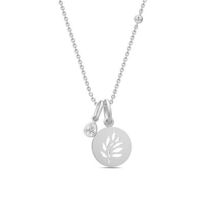 Julie Sandlau Finesse - Halskæde, sølv med vedhæng
