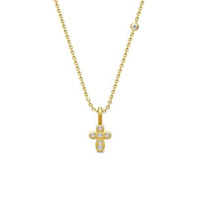 Julie Sandlau - Life halskæde i sølv eller forgyldt med life vedhæng
