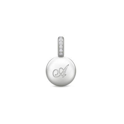 Julie Sandlau ID - Vedhæng sølv bogstav