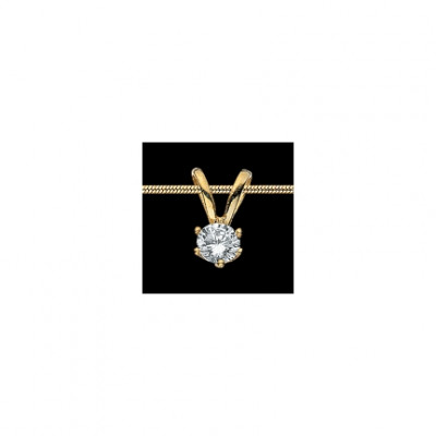 Scrouples Vedhæng - 14 kt Guld, zirkonia