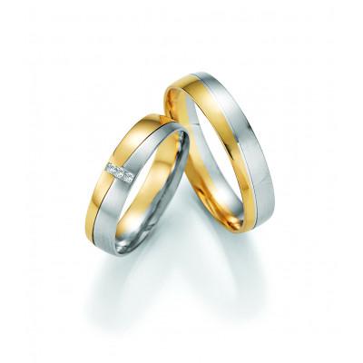 Vielsesringe - HM Pure V i guld i enten 8 karat eller 14 karat guld