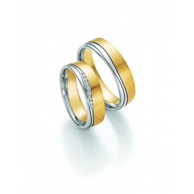 Vielsesringe - HM Solid V i 8 karat eller 14 karat guld