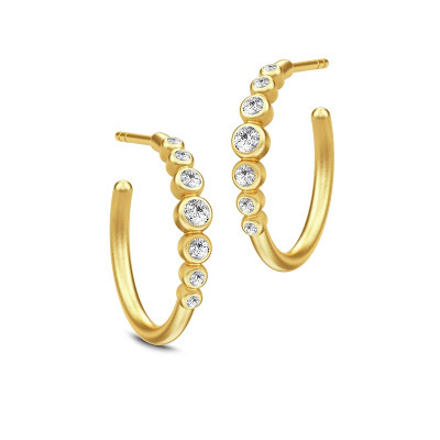 Julie Sandlau - Grace øreringe - halvcreol