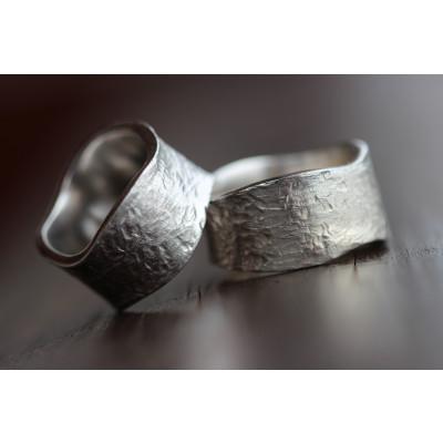 Min Vielsesring i sølv (Parpriser se billede)
