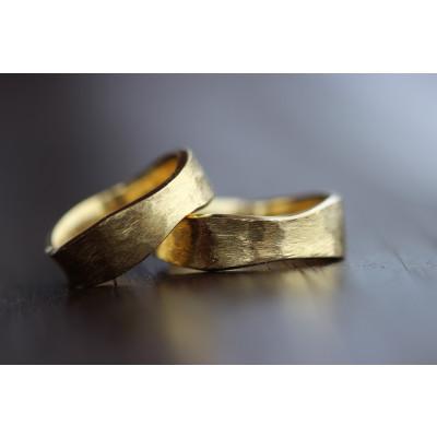 Min Vielsesring Profil 7 af eget guld