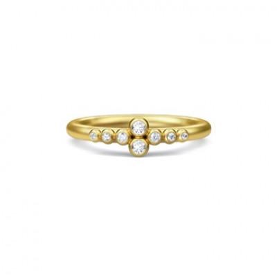 Julie Sandlau Blossom - Ring, forgyldt el. sølv