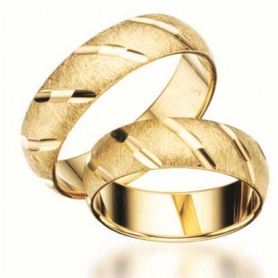 Hjerteringe i guld