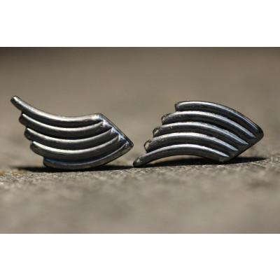 Ørestikker i sølv fra vores værksted no. 13