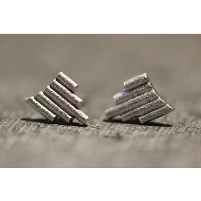 Ørestikker i sølv fra vores værksted no. 3