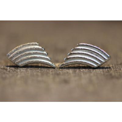 Ørestikker i sølv fra vores værksted no. 4