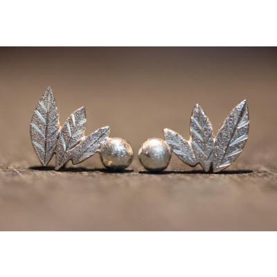 Ørestikker  i sølv fra vores værksted no. 7