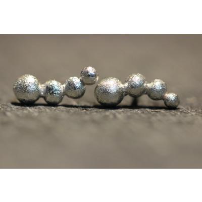 Ørestikker i sølv fra vores værksted no. 8