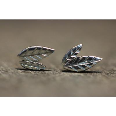 Ørestikker i sølv fra vores værksted no. 9