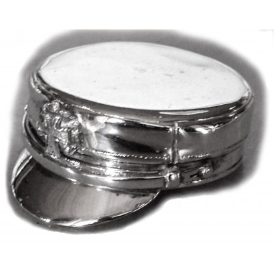 Studenterhue vedhæng i sølv