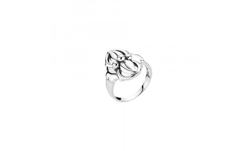 Lund Copenhagen - Fingerring i oxideret sølv