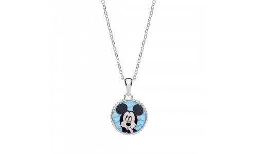 Disney sølvhalskæde - Mickey Mouse (11/20)