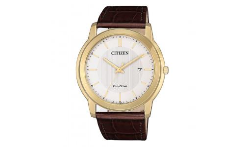 Citizen Eco-drive - Herre ur i double med rem (12/20)