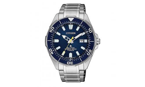 Citizen Eco-drive - Herre ur i Titanium med lænke (08/21)