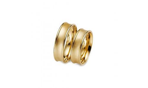 Vielsesring Gerstner 20952 i 8 karat alm guld (X1) 08/19