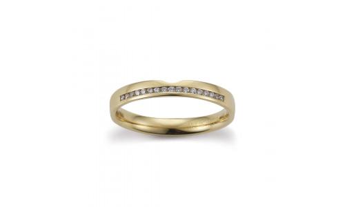 Gerstner vielsesringe 28805 14 karat guld (x47) 01/20