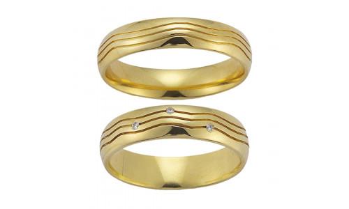 Gerstner vielsesringe 20413 14 karat guld (x13) 09/19