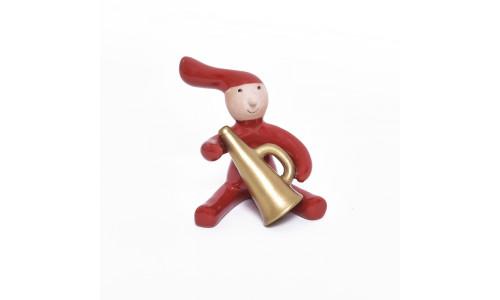 Pixy nisse med trompet 2009.