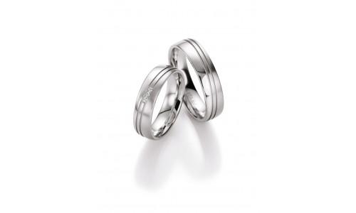 Vielsesringe i sølv
