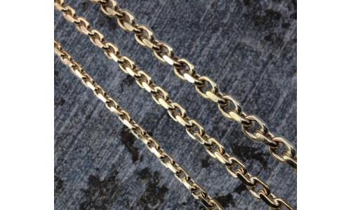 Anker armbånd i 8 eller 14 karat guld