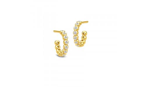 Julie Sandlau - Grace øreringe - halvcreol mini